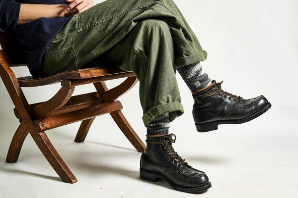 6インチ以下のブーツは、 靴下の柄や色で遊べ! ブーツに最適な靴下ブランド3選。