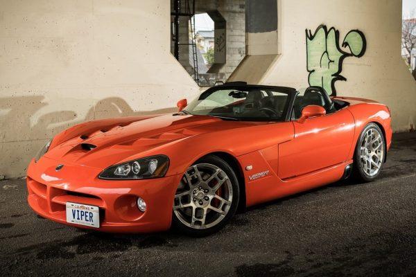 クルマ好きが行き着いたセカンドカーは、「Dodge Viper(ダッジ バイパー)」だった。