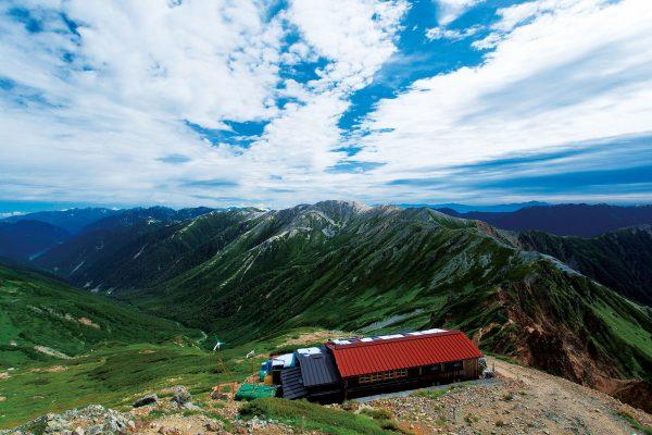 「水晶小屋」北アルプスの山小屋完全ガイド