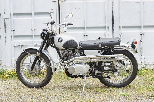 国産初のスクランブラー「1962 ホンダ CL72」を知っているか?