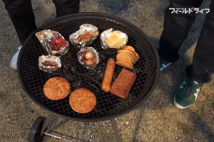 燻製 器 キャンプ 100円均一セリアでたった300円で燻製器を自作!激ウマ燻製の出来上がり