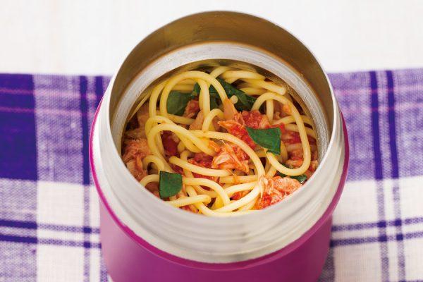 【スープジャー】トマトとツナの冷製パスタ レシピ・作り方
