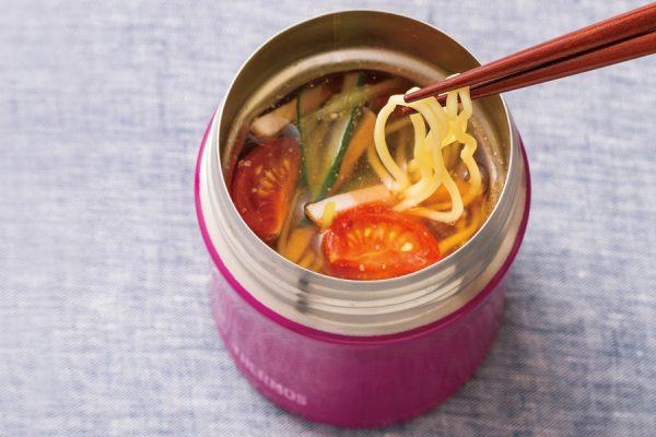 【スープジャー】冷やし中華 レシピ・作り方