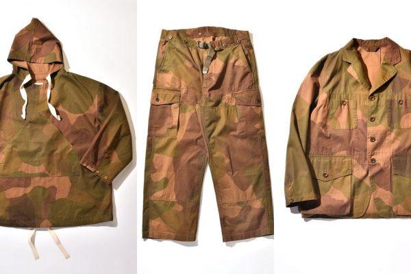 「ナイジェル・ケーボン」のイギリス陸軍特殊空挺部隊の特別なカモフラージュが登場。