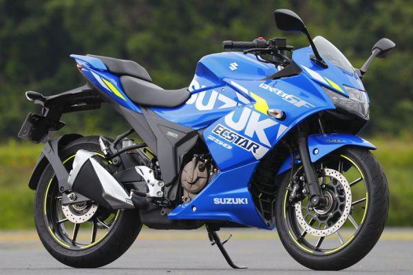 油冷エンジンがついに復活! 冷却効率を高めた新エンジンで登場 SUZUKI GIXXER SF250