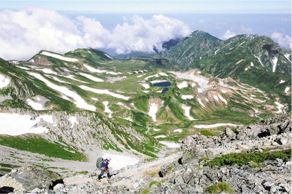立山連峰「王道」から「穴場」への旅|岩稜と雪渓、渓谷を抜けてダムを行く!