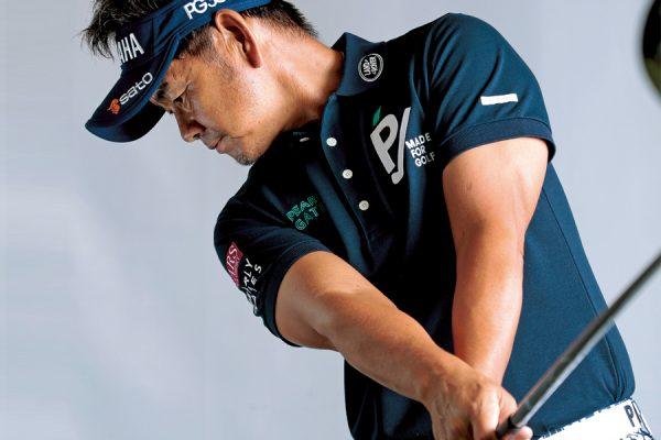 藤田寛之の飛距離アップのテクニック「ハンマー投げのイメージで大きな遠心力を生み出す」