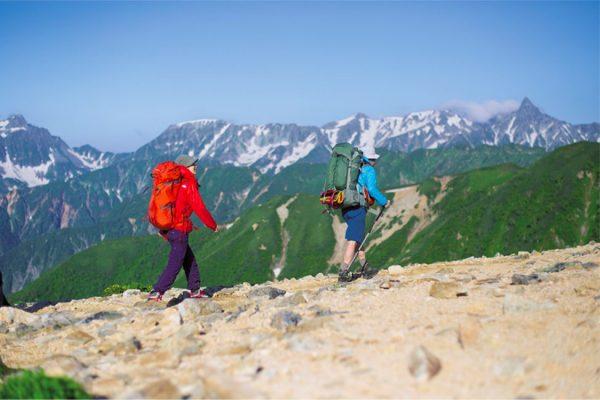 大天井岳、燕岳を行く|北アルプスで過ごしたはじめての夏