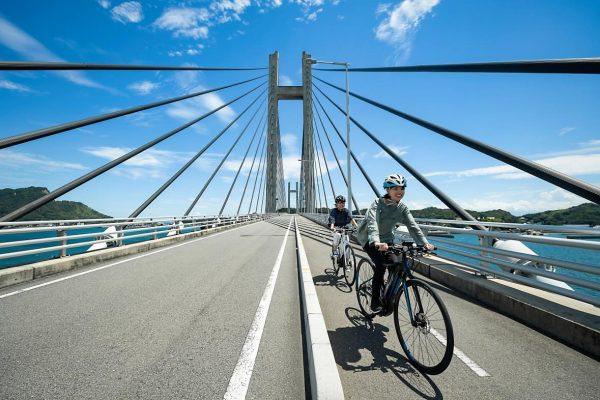 信号ゼロの愛媛県上島町でストレスフリーなサイクリング
