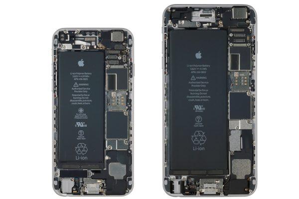 柔らかなRボディに包まれた「iPhone 6/6 Plus(2014)」の中身は?|iPhone超分解図鑑