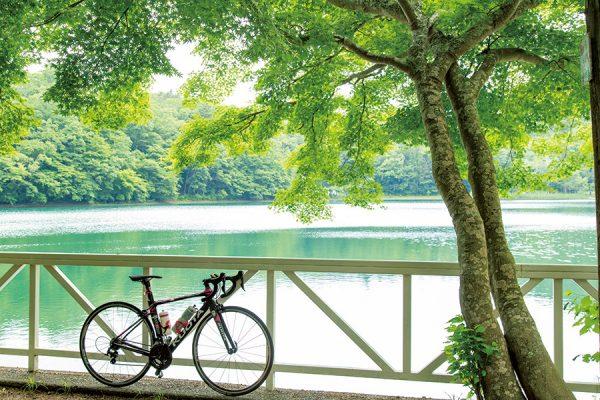 四尾連湖|静岡&山梨県・ジャパンバイシクルルート実走調査