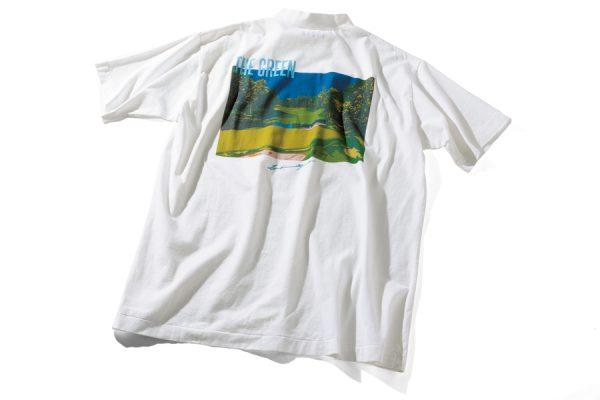 80年代グラフィックが再注目。鈴木英人の希少作品がプリントシャツで登場