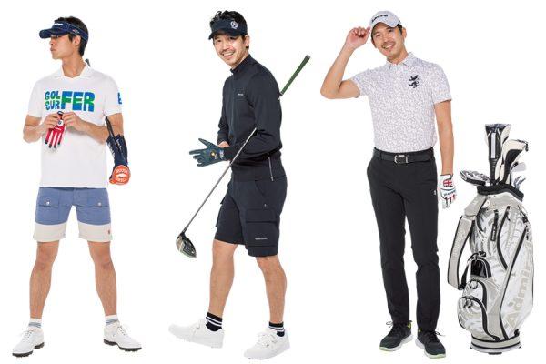 ゴルフウェア(メンズ) おすすめブランド&最新コーデ16選