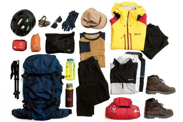 八ヶ岳全山縦走で使った道具