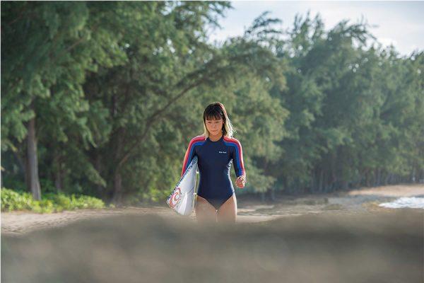 【都築有夢路】日本人女子を引っ張るトップランナー|オリンピック サーフィン