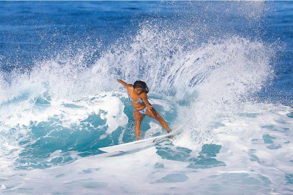 【前田マヒナ】ハワイ仕込みのパワフルライディング|オリンピック サーフィン