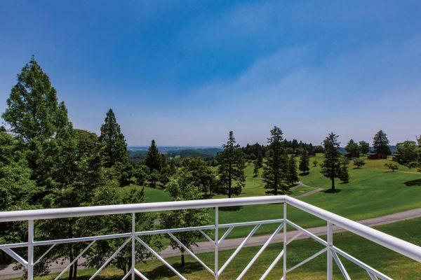 サンヒルズカントリークラブ(栃木県)「コース越しに市街までを見下ろせる絶景パノラマ」