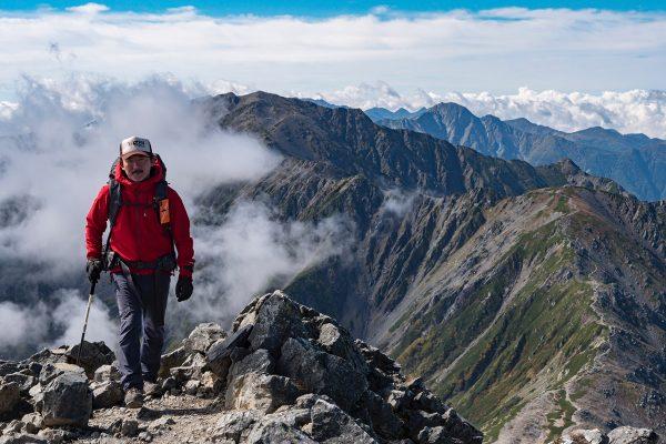 南アルプス白峰三山縦走|ホーボージュンの全天候型放浪記