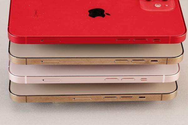 iPhone 13シリーズのスイッチやSIMトレーの位置から推測する、内部構造の進化と変化