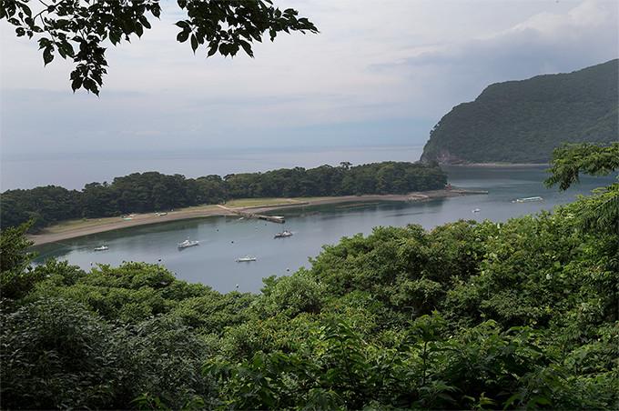 戸田港の眺望を楽しむなら、「健康の森展望地」がオススメ。クルマだと気が付かずに通り過ぎてしまいそう