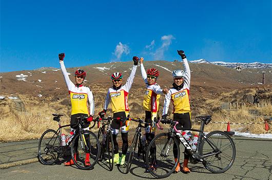 弱虫ペダルサイクリングチーム 阿蘇で合宿した4人