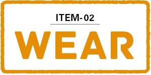 Item02:WEAR