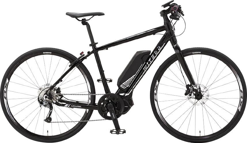 Eバイクはミヤタ・クルーズをレンタル可能