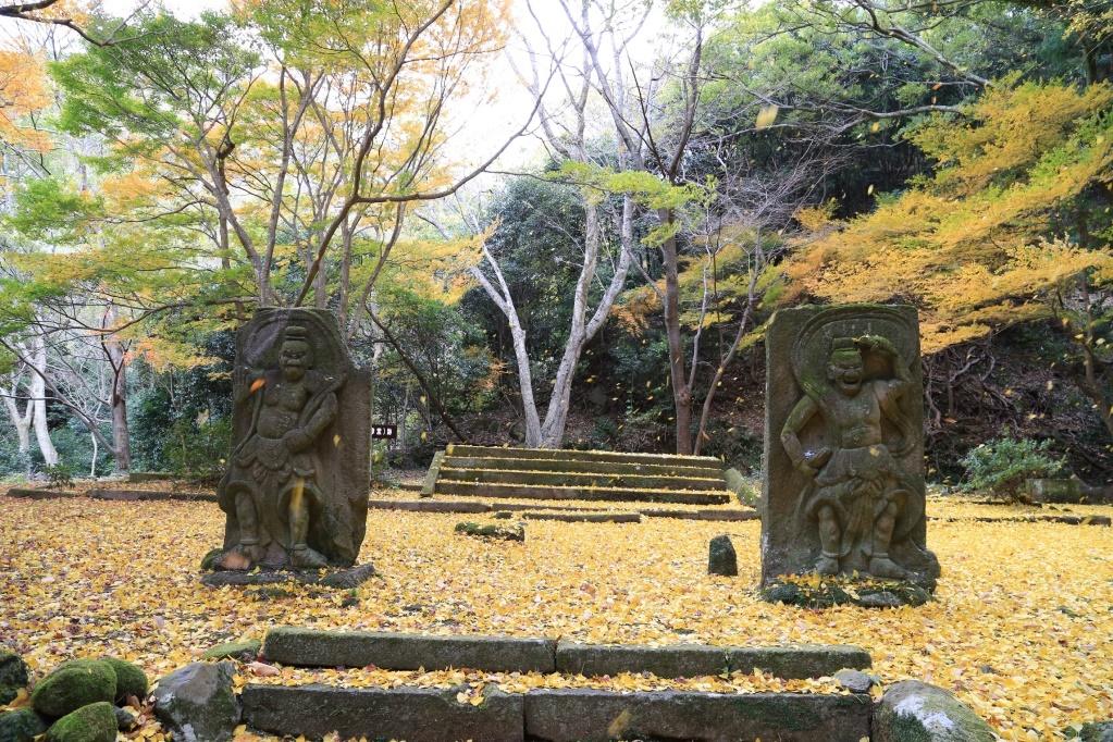 ⑤旧千燈寺跡